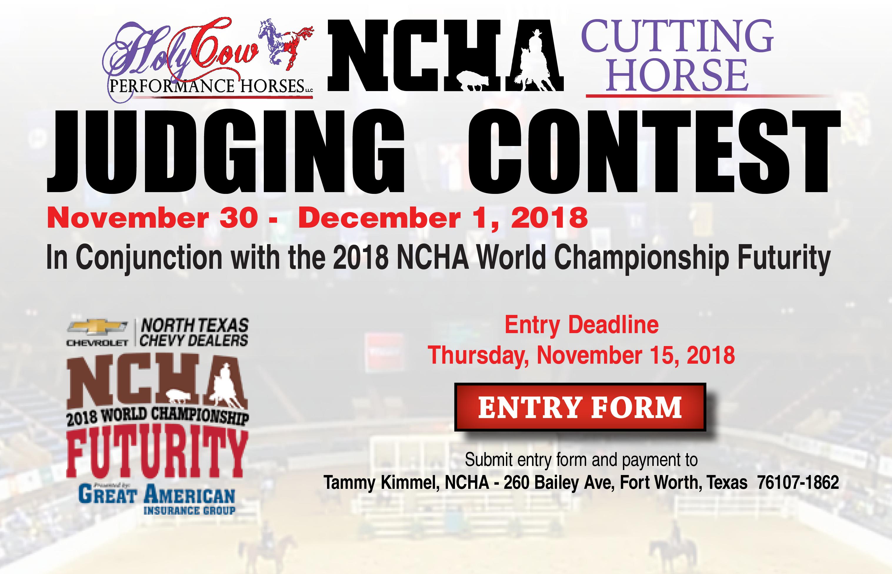 Judging Contest 2018 Carousel